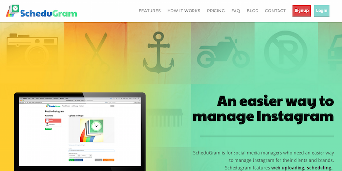 Schedugram - 100 social media tools