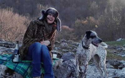 Adrienne left busy London, lives in the Italian countryside and works for Refuga